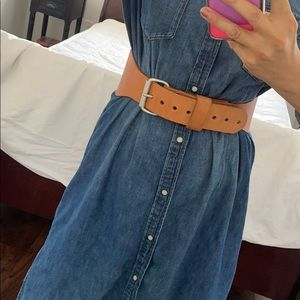 Classic leather Waist belt